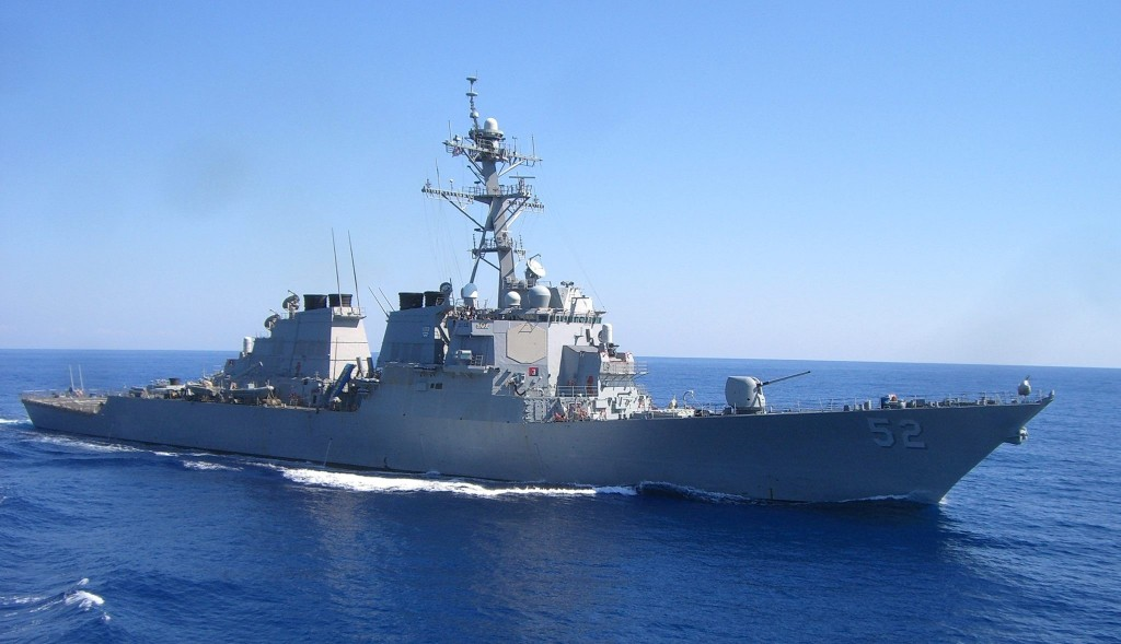 Arleigh Burke-class guided-missile destroyer USS Barry. (Facebook, USS Barry photo)