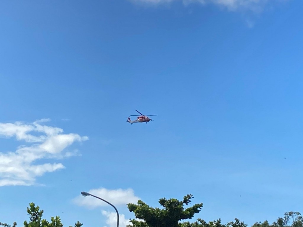 Coast Guard, helicopters search for 'missing' tourist, found sleeping at inn