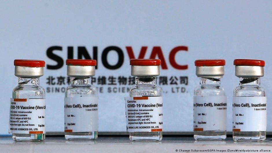 中國研發製造的科興疫苗(圖/picture alliance)