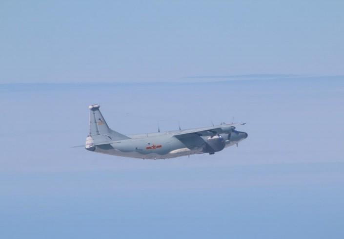 Chinese Y-8 EW. (MND photo)