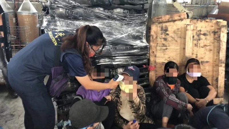 35 undocumented migrant workers arrested, tested for COVID