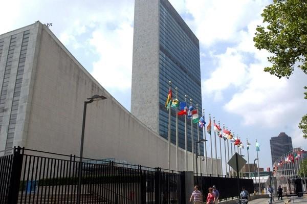 File: U.N. Headquarters in New York.