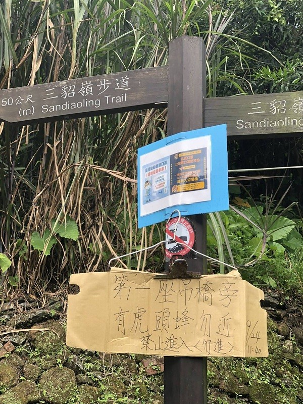 Hornet attack leaves one hiker dead in New Taipei