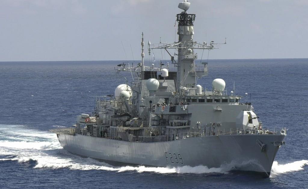 HMS Richmond. (Twitter, HMS Richmond photo)