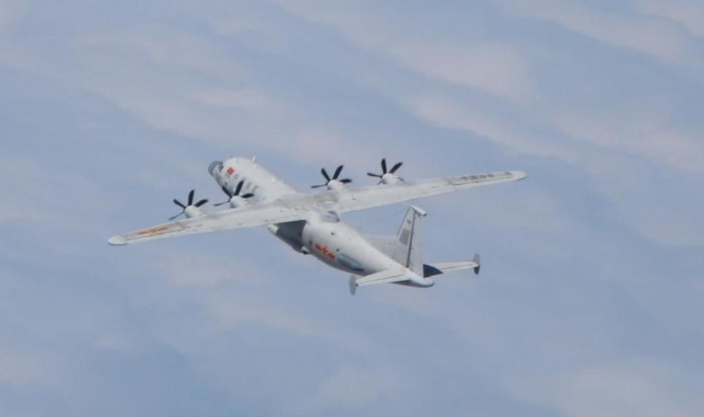 Chinese Y-8 RECCE. (MND photo)