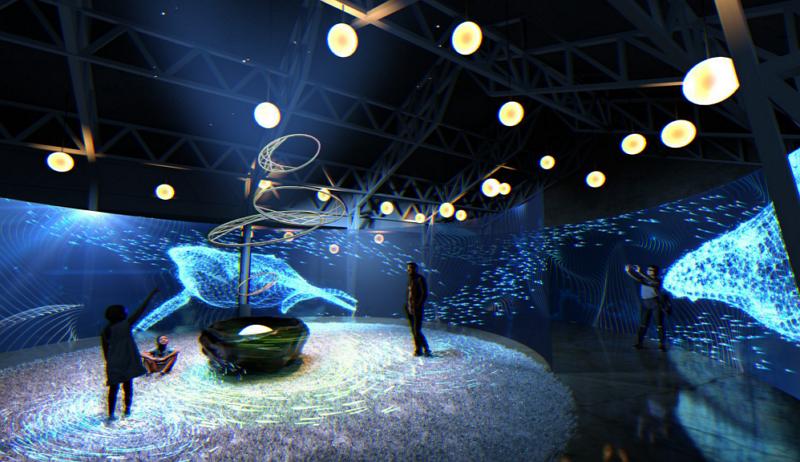 "Immersive art exhibition""Lucid Dreaming""in Hsinchu. (Tourism Bureau photo)"