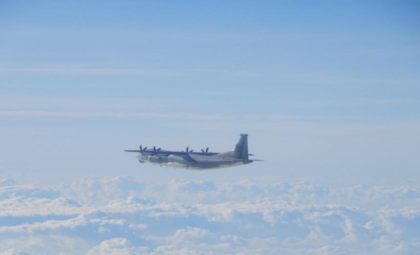6 Chinese military planes enter Taiwan's ADIZ