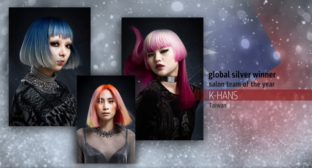 Taiwanese hairstyling talents shine during Goldwell's Global Creative Awards