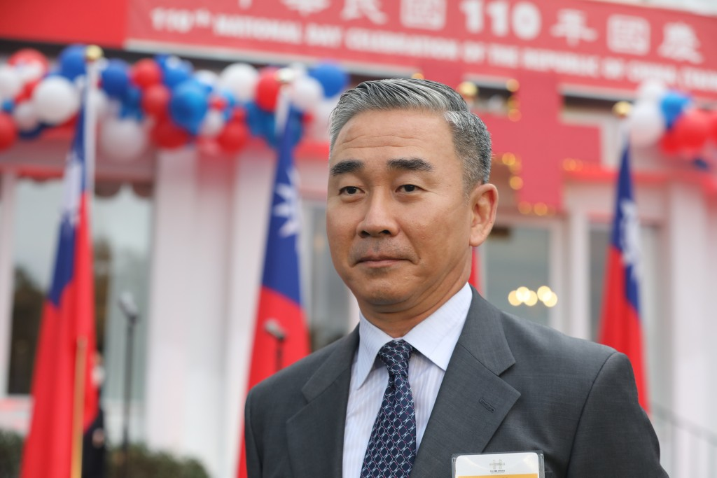 Major General Yu Chien-feng, director-general of the Taiwan military mission in the U.S.