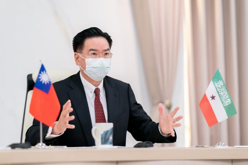Foreign Minister Joseph Wu. (MOFA photo)