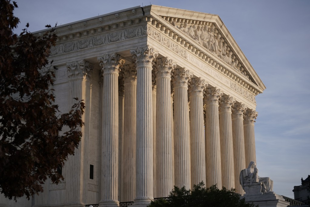 FILE - This Nov. 5, 2020 file photo, shows the Supreme Court in Washington.(AP Photo/J. Scott Applewhite, File)