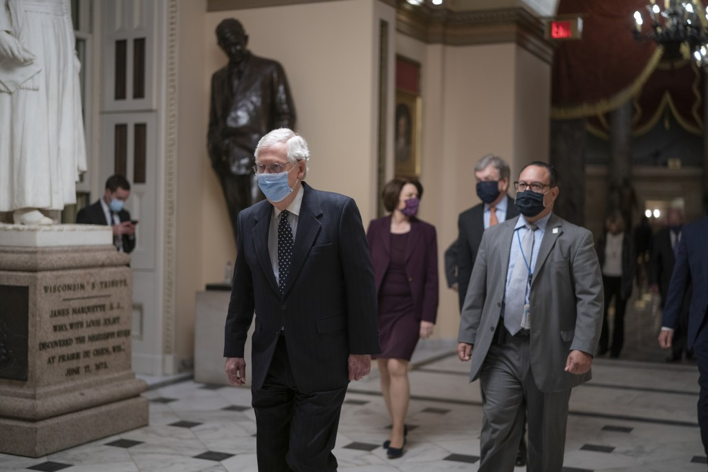 After violent protesters loyal to President Donald Trump stormed the U.S. Capitol today, Senate Majority Leader Mitch McConnell, R-Ky., returns to the...
