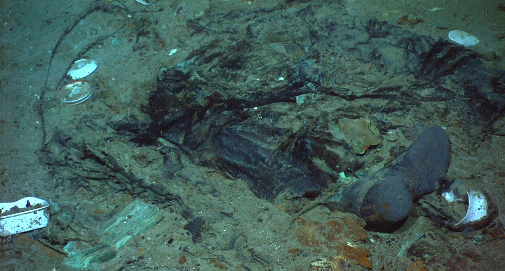 This 2004 photo provided by the Institute for Exploration, Center for Archaeological Oceanography/University of Rhode Island/NOAA Office of Ocean Expl...