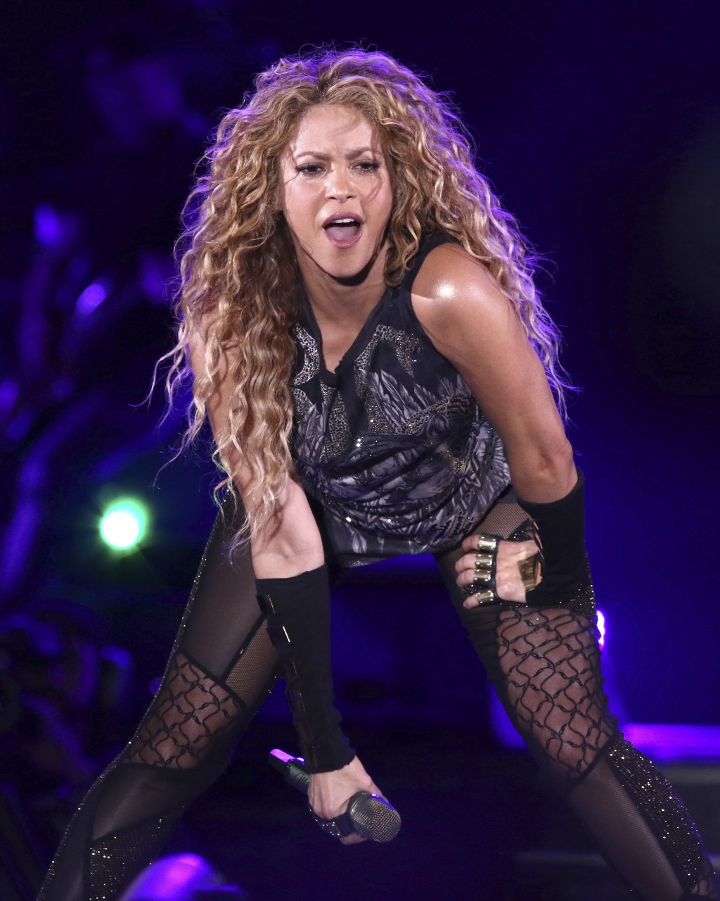 FILE - This Aug. 10, 2018 file photo shows Shakira performing in concert at Madison Square Garden in New York. The Board of Hipgnosis Songs Fund Limit...