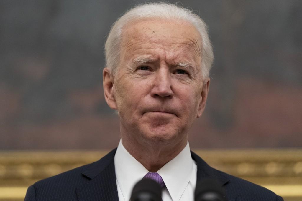 President Joe Biden speaks about the coronavirus in the State Dinning Room of the White House, Thursday, Jan. 21, 2021, in Washington. Experts say Bid...