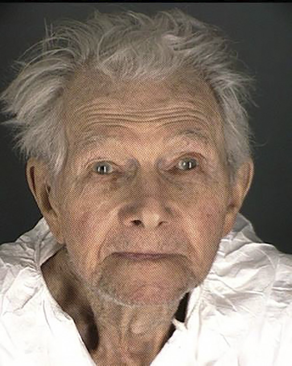 This booking provided by the Boulder County Sheriff's Office shows Okey Payne. Police say Payne, 95, and  accused of shooting and killing a maintenanc...