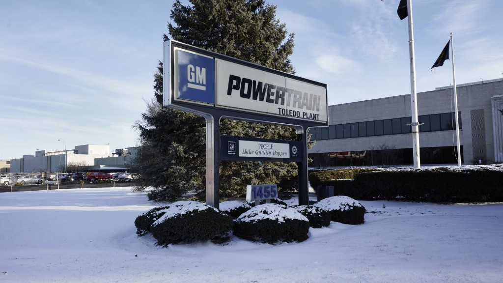The exterior of the General Motors Toledo Transmission Operations facility is shown in Toledo, Ohio, Tuesday, Feb. 2, 2021.  When General Motors boldl...