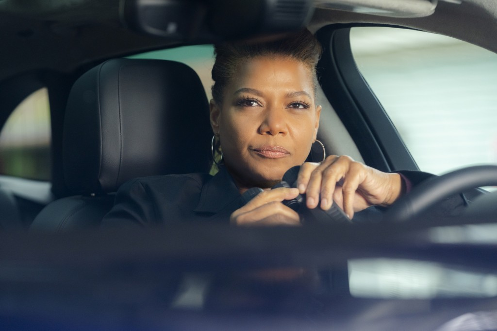 "This image released by CBS shows Queen Latifah in a scene from the series ""The Equalizer."" The CBS reboot with Latifah took advantage of its post-Supe..."
