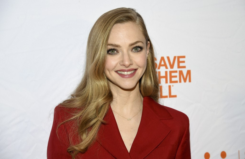 FILE - Actress Amanda Seyfried attends the fourth annual Best Friends Animal Society benefit gala in New York on April 2, 2019. Seyfried stars in the ...