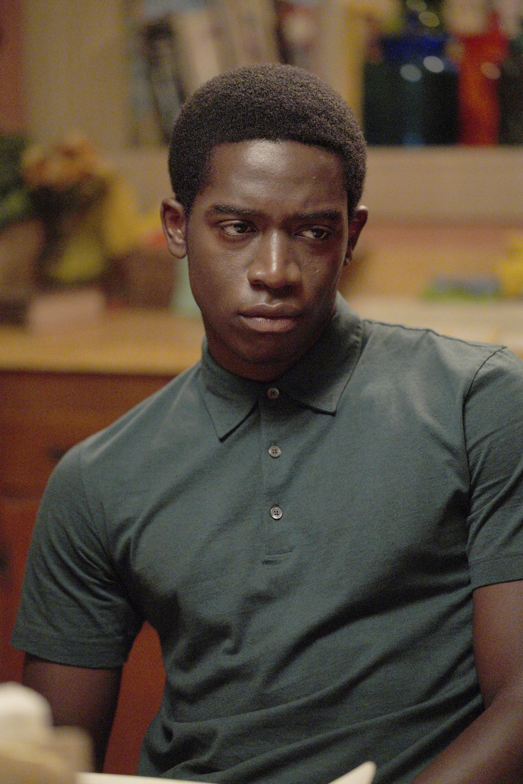 "This image released by FX shows Damson Idris as Franklin Saint in ""Snowfall."" Season four premiers on FX on Wednesday and Thursday on FX on Hulu. (Byr..."