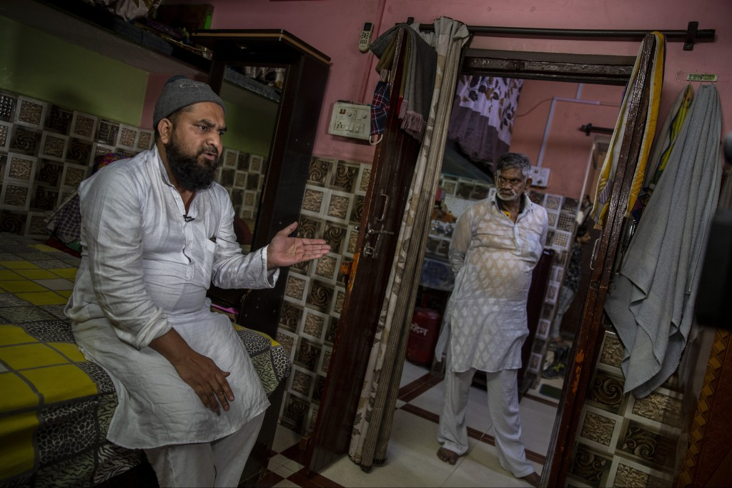 Haroon, who saw his 32 year-old brother being shot and killed by his Hindu neighbors during the February 2020 communal riots, speaks to the Associated...