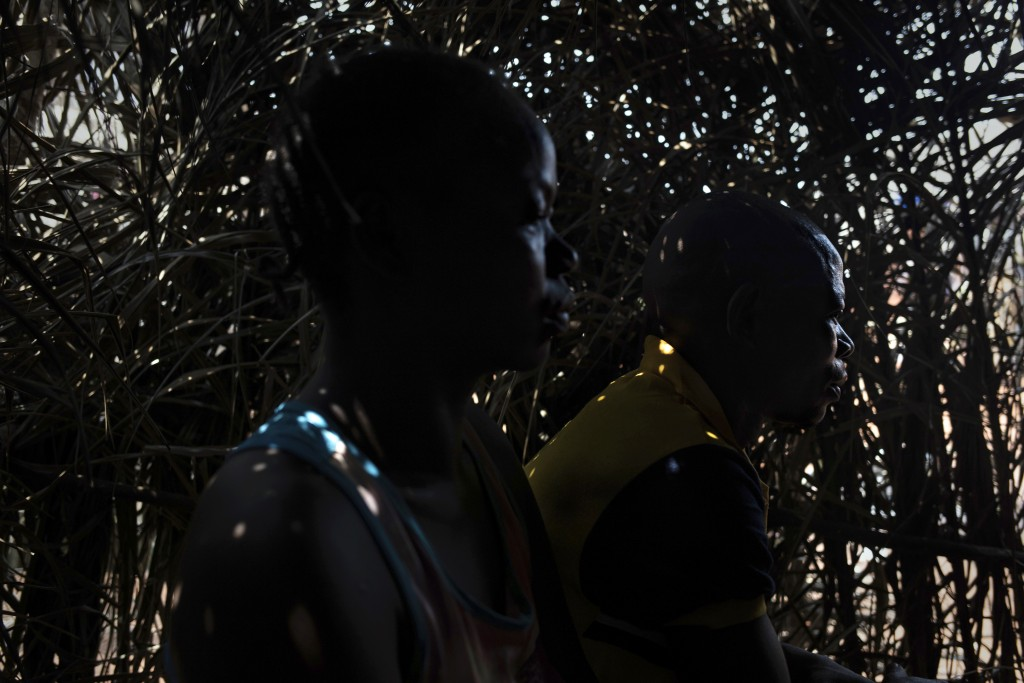 A man who requested to remain anonymous who fled Bangassou, Central African Republic, is photographed in the village of Siwa where he and his wife fou...