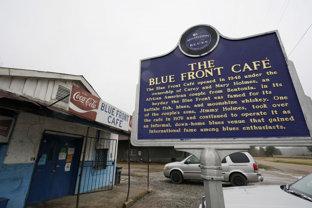 The Blue Front Cafe in Bentonia, Miss., photographed, Jan. 21, 2021, is one of oldest surviving juke joints in the state, and owned by bluesman Jimmy ...