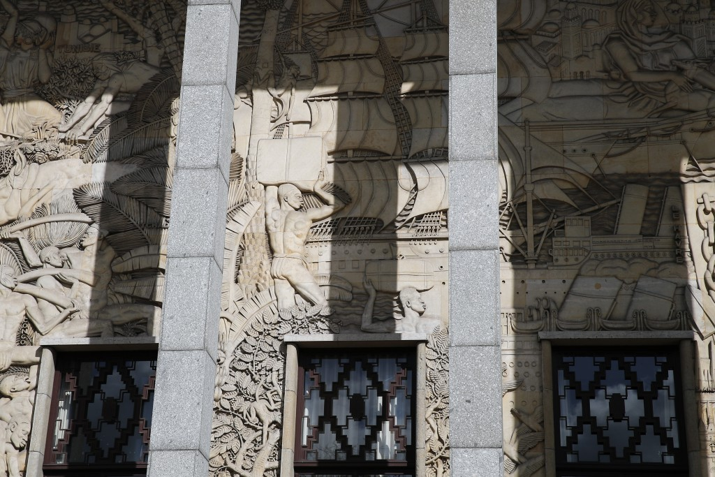 An exterior view of France's National Museum of the History of Immigration, in Paris, Thursday, March 11, 2021. Pap Ndiaye, a Black French scholar and...