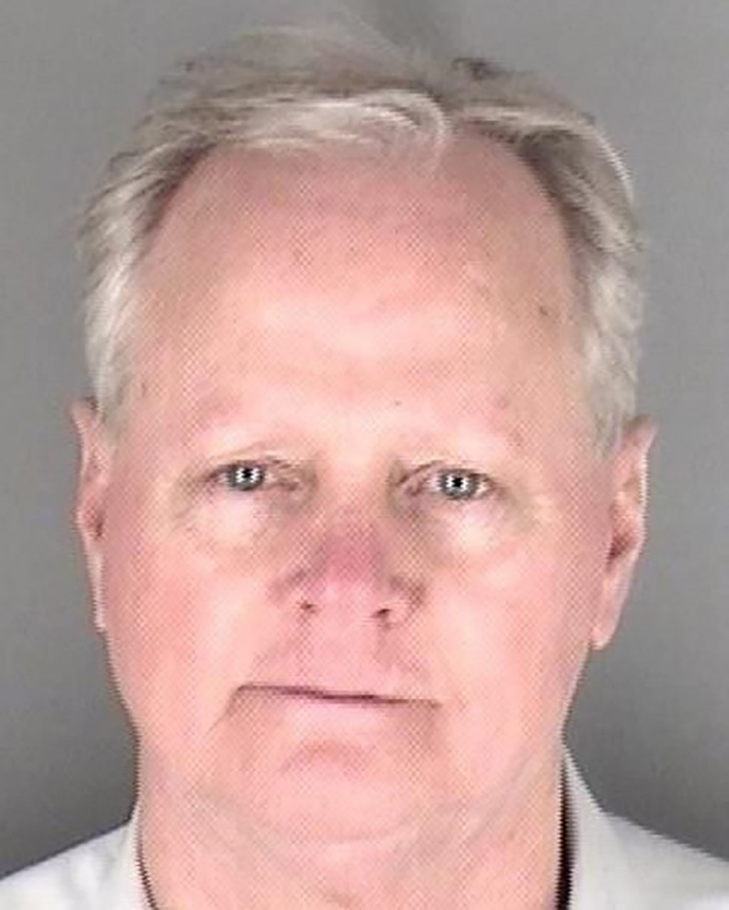 This photo provided by the Shawnee County Jail in Topeka, Kan., shows Kansas Senate Majority Leader Gene Suellentrop, R-Wichita, after being booked fo...