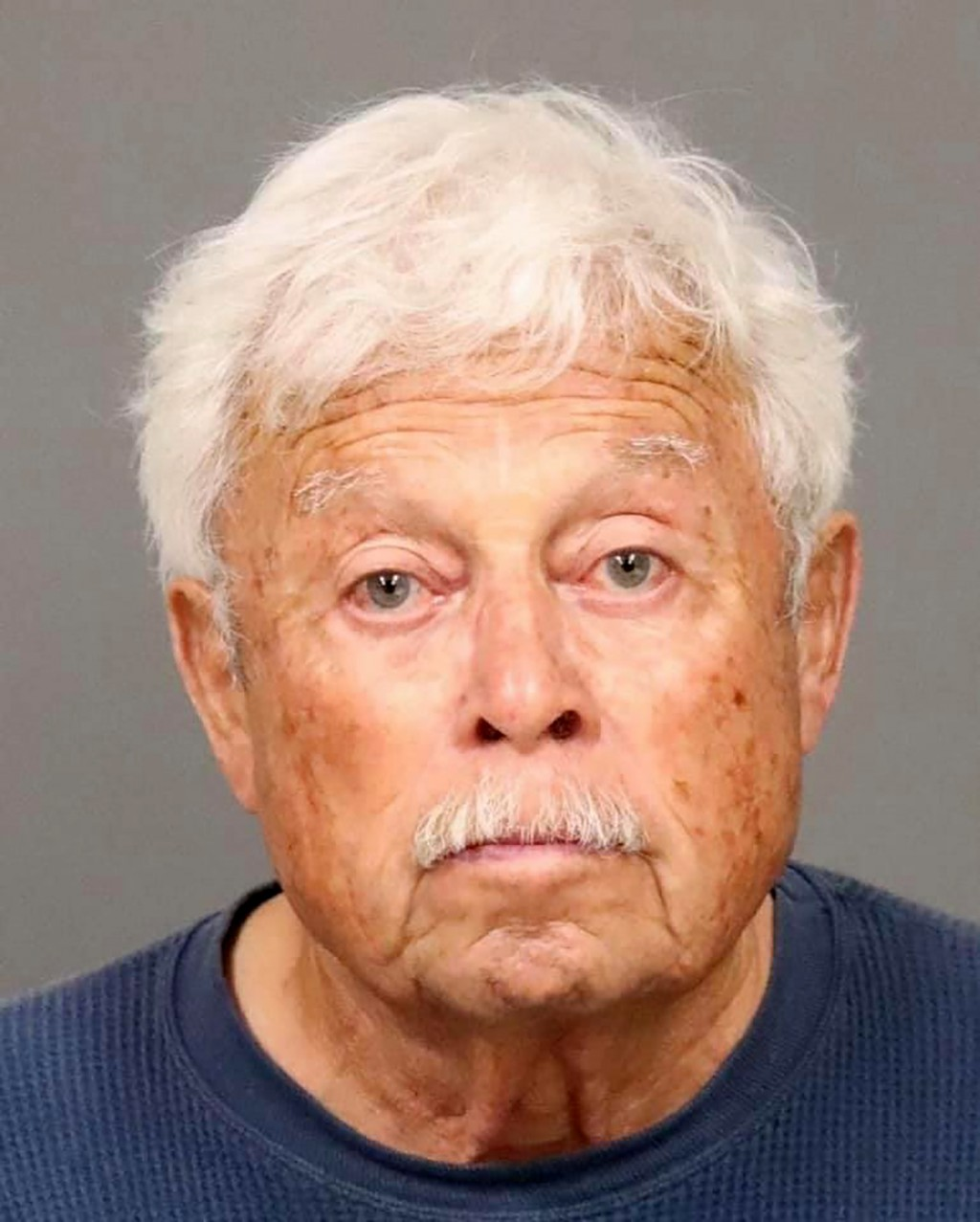 This photo provided by the San Luis Obispo County Sheriff's Office shows Ruben Flores, 80, who was arrested in connection to the murder of college stu...