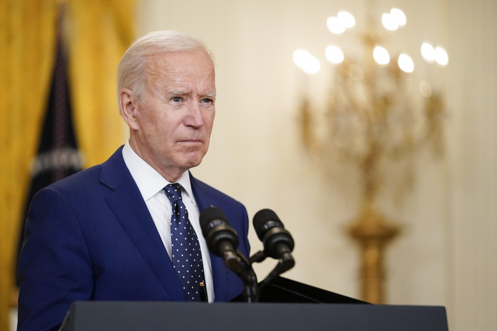 FILE - In this April 15, 2021, file photo President Joe Biden speaks about Russia in the East Room of the White House in Washington. In recent days, B...