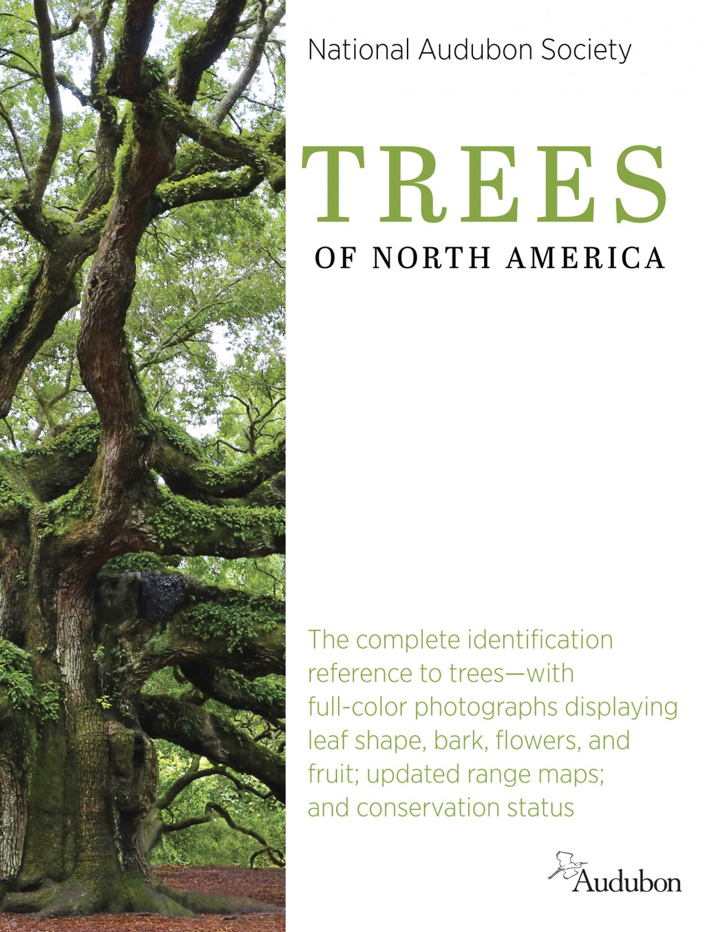 """This cover image released by Knopf shows """"Trees of North America"""" by the National Audubon Society. (Knopf via AP)"""