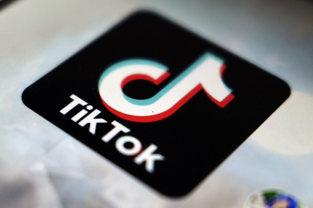 Aview of the TikTok app logo