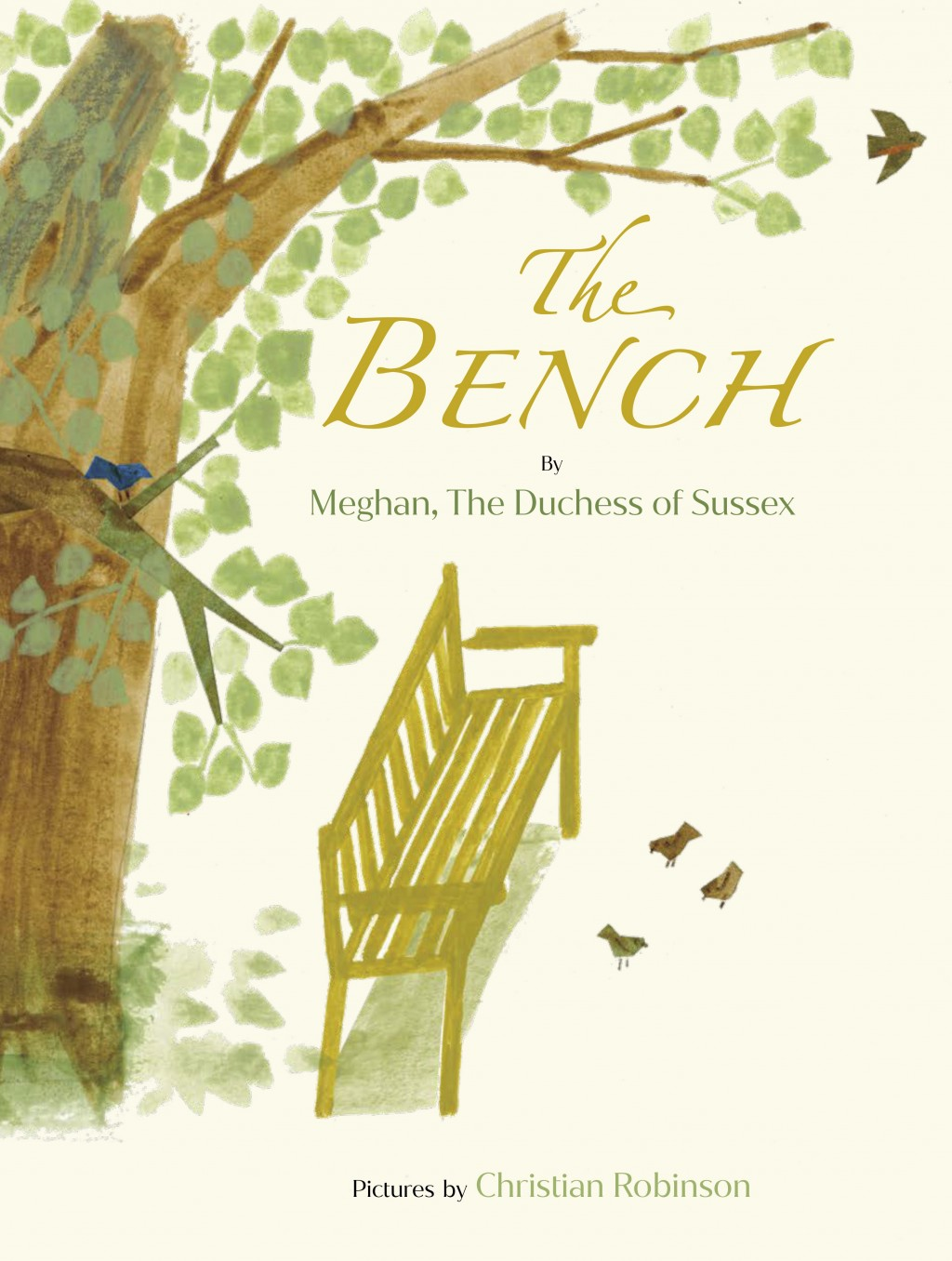 "This image released by Random House Children's Books shows ""The Bench,"" a children's book by Meghan, The Duchess of Sussex, and with pictures by Chris..."