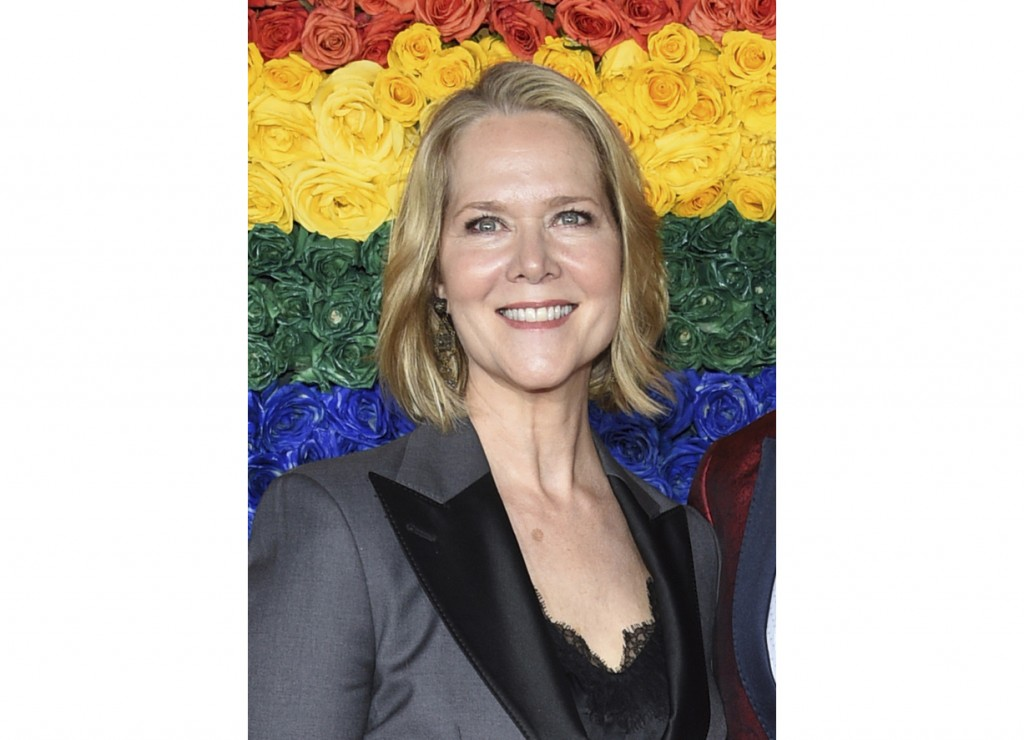 FILE - Rebecca Luker appears at the 73rd annual Tony Awards in New York on June 9, 2019. Luker, 59, a three-time Tony nominated actor, died Dec. 23, 2...