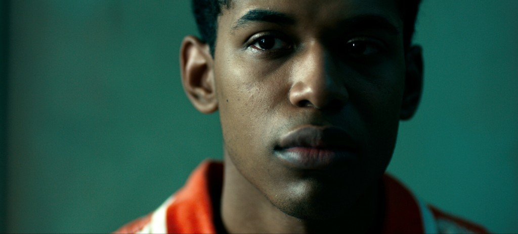 """This image released by Netflix shows Kevin Harrison Jr. in a scene from """"Monster."""" (Netflix via AP)"""