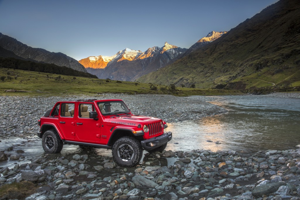 This photo provided by Stellantis North America shows the 2021 Jeep Wrangler Rubicon Unlimited. Available in two-door or four-door configurations and ...