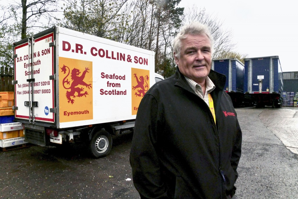 James Cook, Managing Director of D.R Collin & Son who voted for Scottish independence in 2014, but feels now is not the right time for a second indepe...