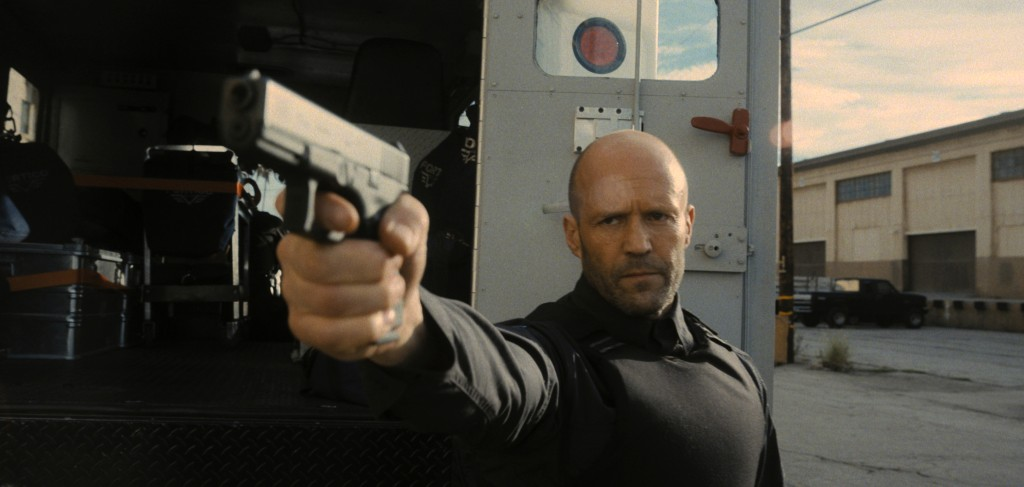 """This image released by Metro Goldwyn Mayer Pictures shows Jason Statham in a scene from """"Wrath of Man,"""" a film by Guy Ritchie. (Metro Goldwyn Mayer Pi..."""