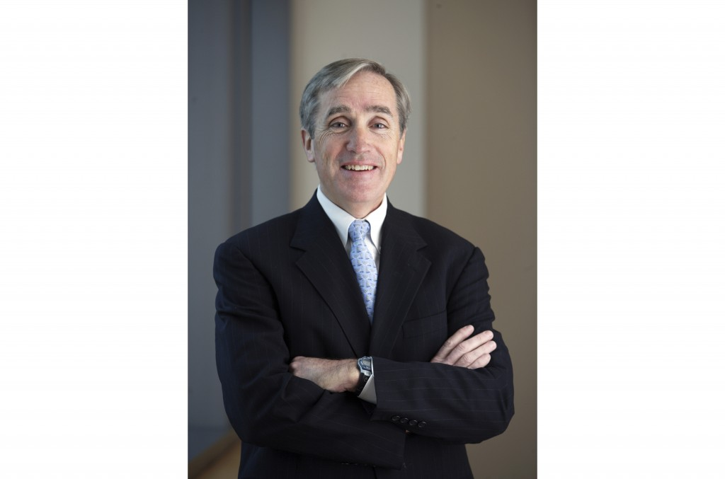 This undated photo provided by Vanguard shows Jack Brennan. Brennan, who was CEO of fund giant Vanguard from 1996 to 2008, co-wrote a book that stress...