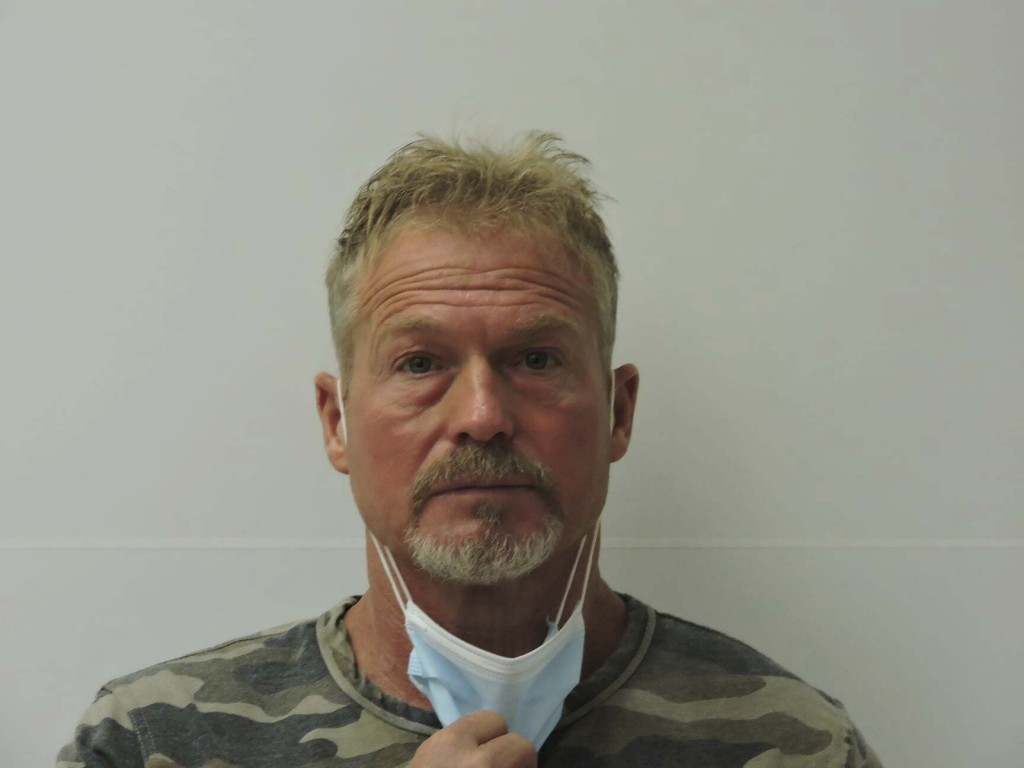 This photo provided by Chaffee County Sheriff's Office shows Barry Morphew.  Morphew was arrested in connection with the disappearance of his wife, Su...
