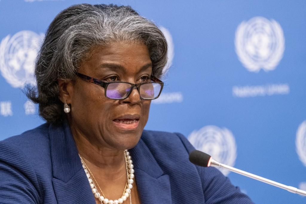 U.S. Ambassador to the United Nations Linda Thomas-Greenfield (AP photo)