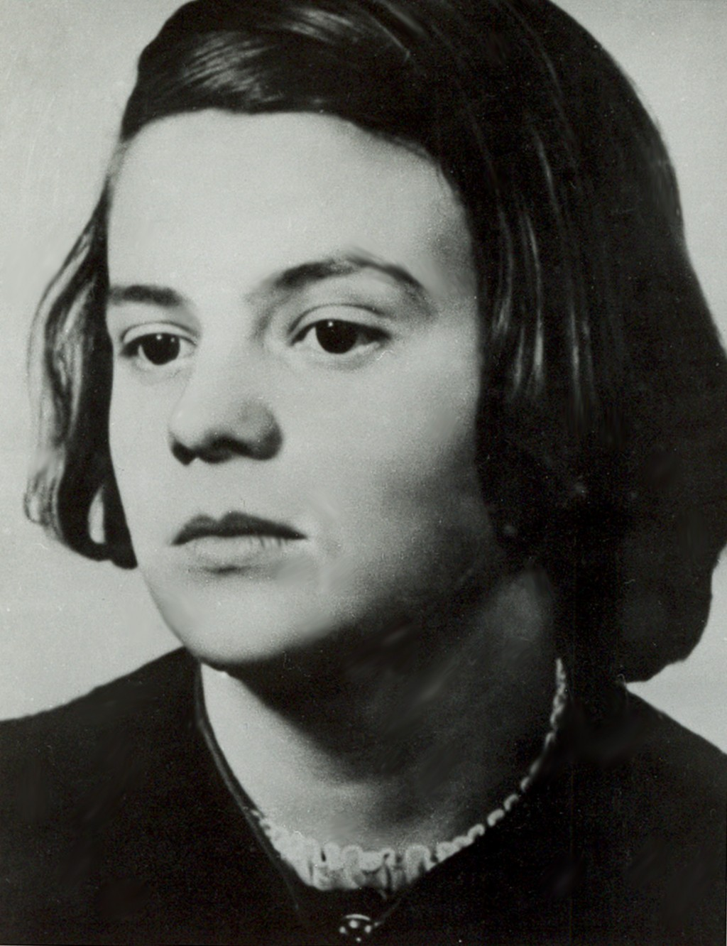 FILE - This undated file photo shows German Sophie Scholl, member of the Nazi resistance activist group 'White Rose'. May 9, 2021 marks the 100th anni...