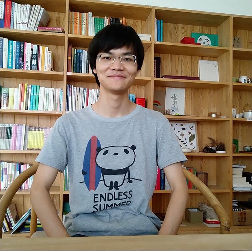 In this photo released by a friend of Cai Wei, Cai Wei poses for a photo in Beijing in June, 2018. More than a year after two young men, including Cai...