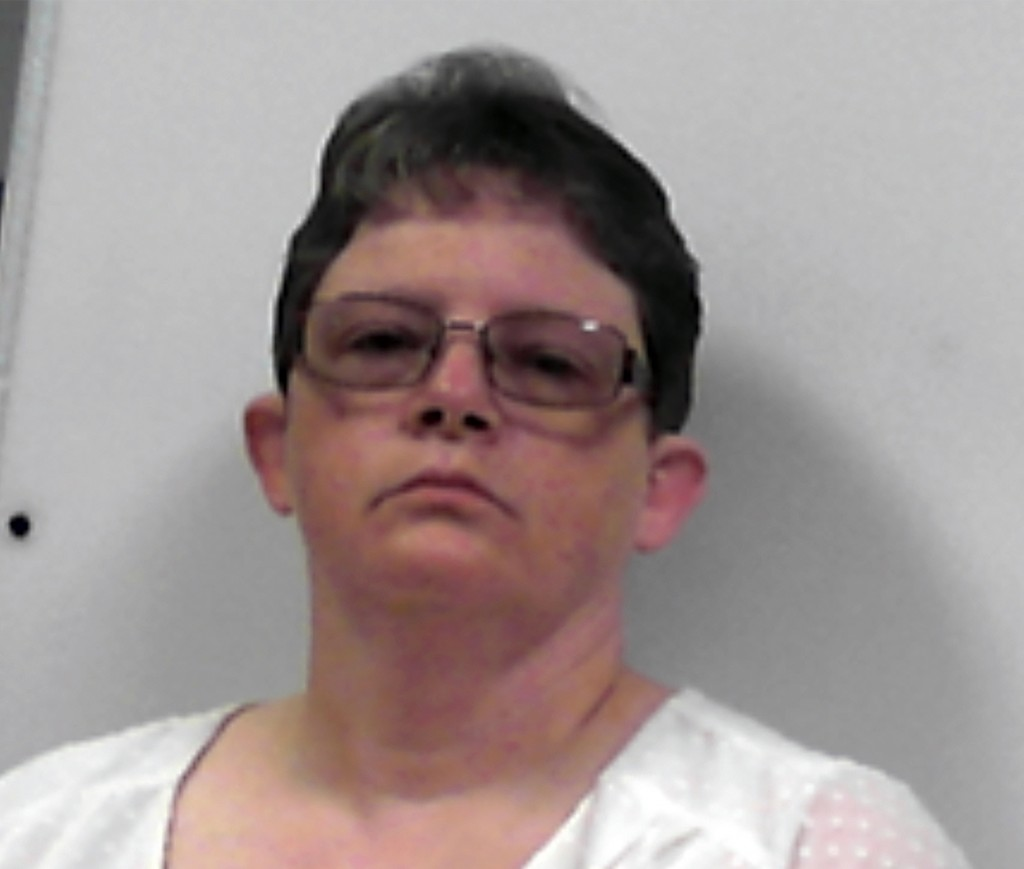 FILE - This photo released July 14, 2020, by the West Virginia Regional Jail and Correctional Facility Authority shows Reta Mays. Mays, a former nursi...