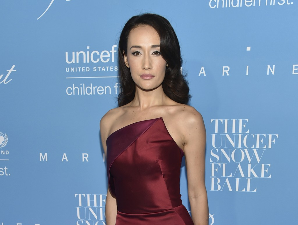 FILE - Maggie Q attends the 12th Annual UNICEF Snowflake Ball in New York on Nov. 29, 2016. She turns 42 on May 22. (Photo by Evan Agostini/Invision/A...