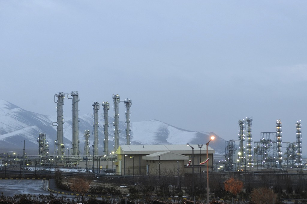 FILE - This Jan. 15, 2011 file photo shows Arak heavy water nuclear facilities, near the central city of Arak, 150 miles (250 kilometers) southwest of...