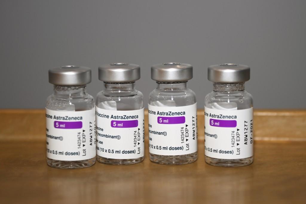 Vials of AstraZenecavaccines.