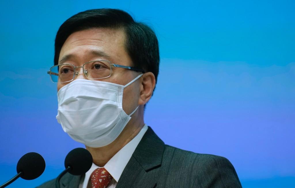 Hong Kong Secretary for SecurityJohn Lee