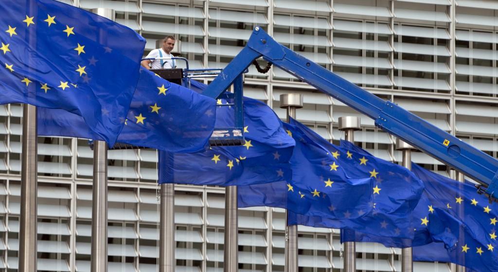 歐盟位於布魯塞爾之總部(圖/AP)